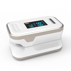 B-81: Fingertip Pulse Oximeter gold