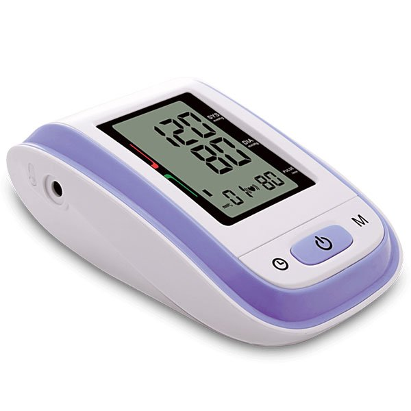 BPA1: Wrist Blood Pressure Monitor 004 Purple